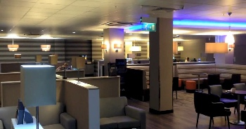 Newcastle airport hospitality lounge
