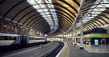 train platform newcastle
