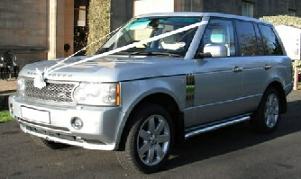 Range Rover Wedding car