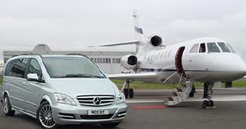 Newcastle Airport Chauffeur Mercedes V Class