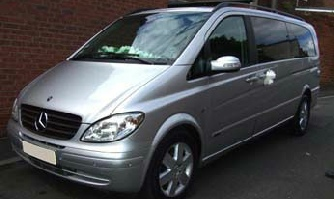 Mercedes V Class Wedding car